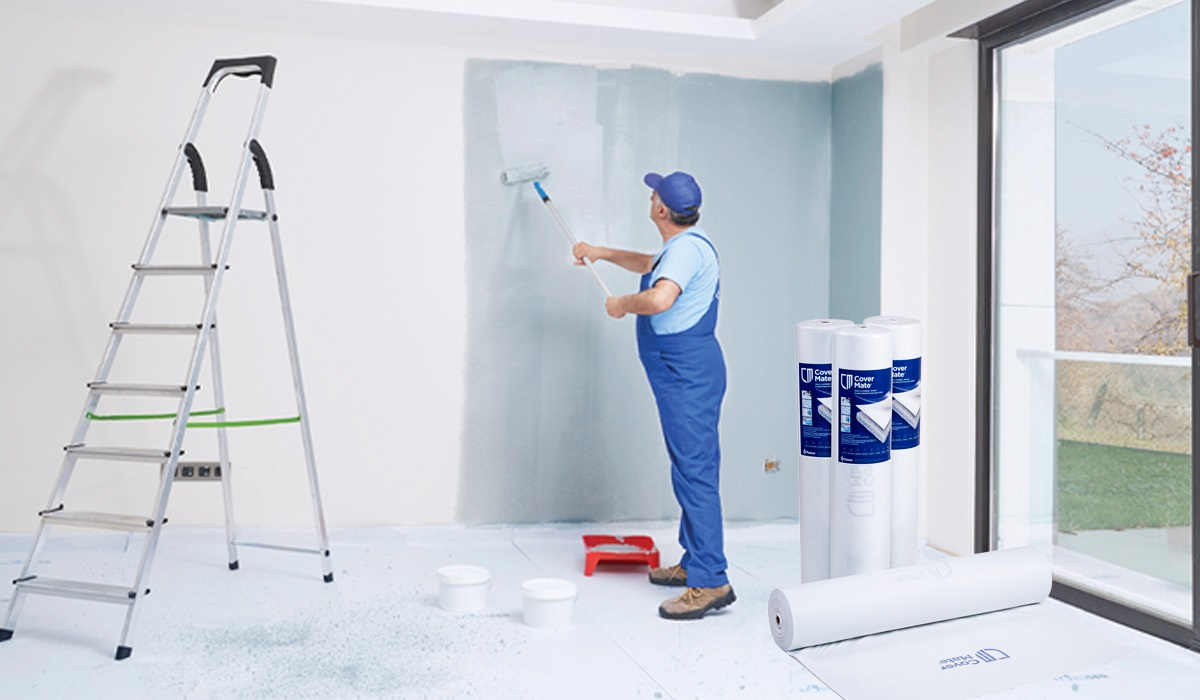 floor protection mat for painting